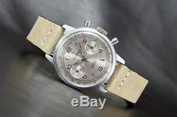 1960's HELBROS Swiss Ref. 14510 Vintage Chronograph Watch Valjoux Cal. 7730