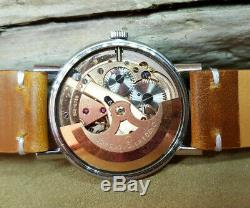1967 Omega Seamaster Silver Dial Date Automatic Cal565 Man's Watch