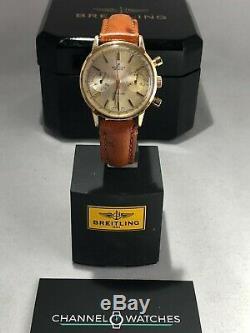 Breitling TopTime REF 2000 Gold plated case mid 1960's Vintage