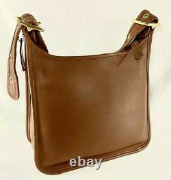 COACH JANICE LEGACY Vtg British Tan Shoulder Bag NEW NOS Brass 9966 made in USA