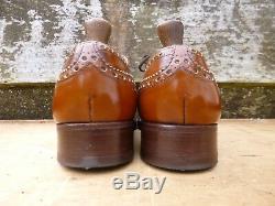 Church Vintage Brogues Brown / Tan Uk 8.5 Burwood Superb Condition