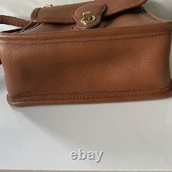 Coach Bag Vintage Murphy Willis 9930 British Tan Leather Crossbody L4C-9930