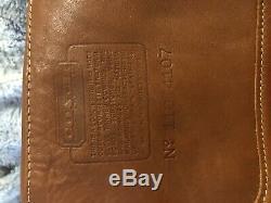 Coach Vintage Fanny Pack Tan Leather Waistbag AND Vintage Shoulder Bag