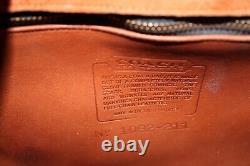 Coach Vintage Logan British Tan Crossbody Shoulder Bag Purse USA Euc