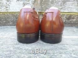 Crockett And Jones Vintage Brogues Brown / Tan Uk 8.5 Unworn Condition
