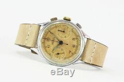 Early-Mid 1940's ANGELUS Swiss Vintage Chronograph Watch Angelus Cal. 215