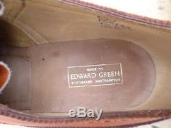 Edward Green Vintage Brogues Brown / Tan Uk 10 Worn Once