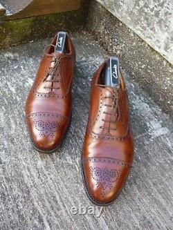 Edward Green Vintage Brogues Brown / Tan Uk 7.5 Excellent Condition