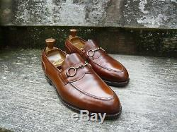 Edward Green Vintage Loafers Brown / Tan Uk 9 Excellent Condition