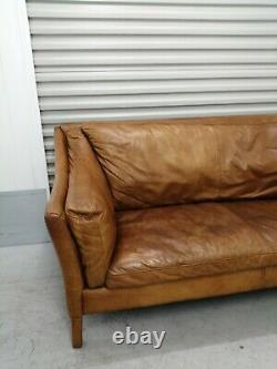 Halo 4 Barker And Stonehouse'reggio' Sofa Medium Tan/brown Vintage, Retro
