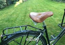 Ice Cream Bike/trike vintage with gears and tan Leather Seat