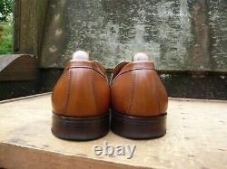 Joseph Cheaney Vintage Buckled Loafers Brown / Tan Uk 8.5 Excellent Cond