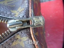 LOUIS VUITTON Vintage PAPILLON 25 LOGO Dipped Canvas TAN Leather TRIM M51365