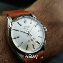 Men's Rolex Oyster Perpetual ref. 1002 Automatic, c. 1986 Swiss Vintage LV727TAN