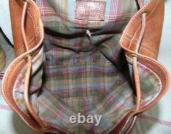 Mulberry Backpack Rucksack Bag Oak Tan Wexford Leather Unisex Vintage