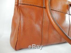 Mulberry Vintage Bayswater Bag Oak Tan Leather Used