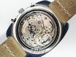 Stunning 1960's CROTON (USA) Vintage Chronograph Watch Valjoux Cal. 7736