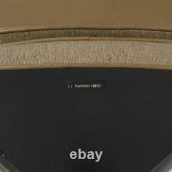Tan Herman Miller Original Vintage Eames 675 Time Life Executive Lounge Chair