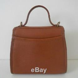 Vintage Coach 9983 British Tan Regina Crossbody