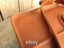 Vintage Coach Bag Willis Messenger in British Tan Leather Crossbody Purse Made i