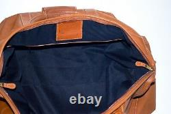 Vintage Coach Cabin/Duffle Large British Tan Bag. Style No. 503. Made in USA