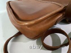 Vintage Coach Crossbody Bag British Tan Rare Collegiate