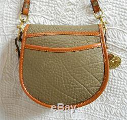 Vintage Dooney and Bourke Big Duck Shoulder Bag Taupe / British Tan U. S. A