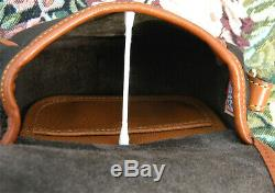 Vintage Dooney and Bourke Dark Chocolate / British Tan Big Duck Very Rare