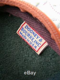 Vintage Dooney and Bourke Mini Explorer Bag Green / Tan Cute Rare U. S. A