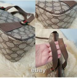 Vintage Gucci Accessory Gg Supreme Web Boston Doctor Speedy Crossbody Bag