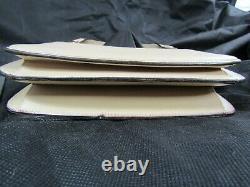 Vintage Gucci Light Tan Leather Purse Handbag