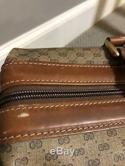 Vintage Large Weekender/ Doctor bag by GUCCI
