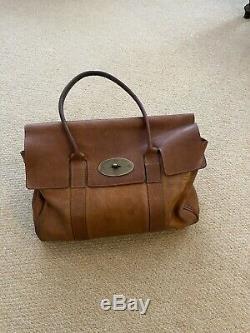 Vintage Mulberry Bayswater Tote Bag Oak/tan