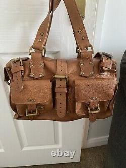 Vintage Mulberry Roxanne Bag in Oak Tan