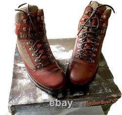 Vtg Timberland Euro Trekker Original Release Super Boot Tan Mens Size 9.5